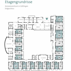 Pflegeimmobilie kaufen Göttingen Weende – Grundriss