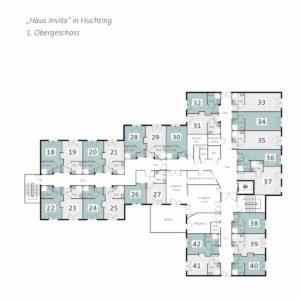 Pflegeimmobilie kaufen in Bremen - Grundriss