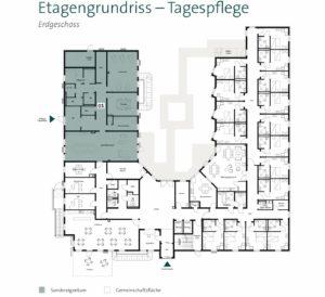 Pflegeimmobilie kaufen Bochum Herne - Grundriss