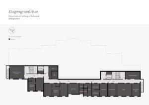 Pflegeimmobilie kaufen Atriumhaus am Hellweg Unna Grundriss