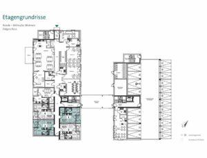 Pflegeimmobilie kaufen Bünde bei Bielefeld – Grundriss