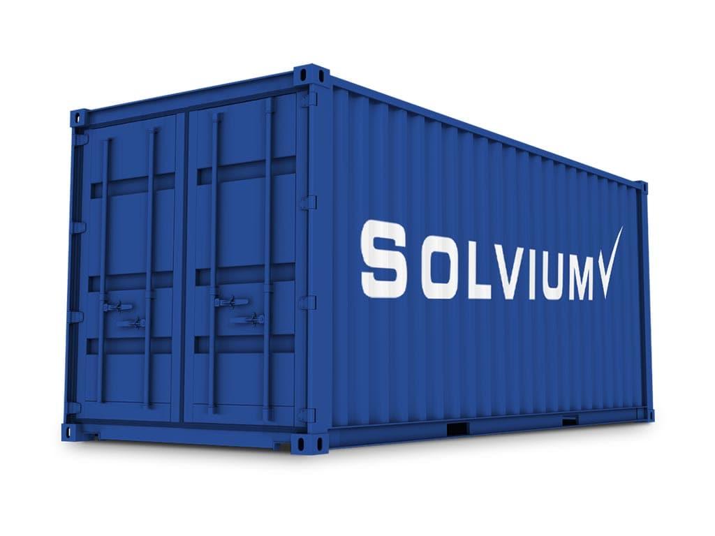 Solvium Logistik Opportunitäten Nr. 2 Standardcontainer